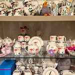 Aston Pottery gift shop - bursting with pottery, home wares, accessories, scarves, toiletries, books, children's toys, glassware, gift wrap, cards and much much more!