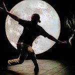 Dancing behind the moon