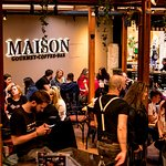 A chilling afternoon at Maison