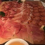 Tagliere misto, mix of cold cuts from Italy