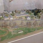 Die Festung in Miniatur.
