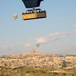 Photo taken from the balloon flight
