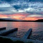 The beautiful sunsets!