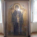 Sala dei mosaici - la Vergine Orante