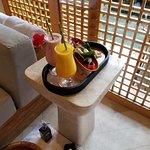 honeymooners spa treatment