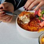 Classic Crème Brûlée (GF) Our gluten free crème brûlée comes with fresh berries