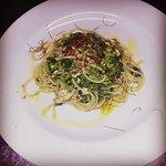 Spaghettoni con fili di zafferano