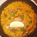 Mixed Paella (chicken, sea fruits)