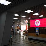 Caramel Shopping and Entertainment Center, Irkutsk. A very nice pair-to-draw-to. Burger King and KFC in the Food Court.