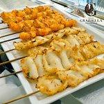 Il Pesce è arrivato dalla Graziella! 🐟🦐 Prova i nostri nuovi spiedini di pesce per assaporare il gusto della riviera. 🏖☀😋 #rosticceriagraziella #cucinaromagnola #santarcangelodiromagna