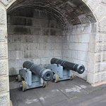 Halifax Citadel-Canons displayed in Magazine
