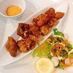 炸鸡块,菜单上叫Karaage,每次去必点之一