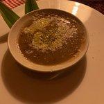 Delicious vegetable bean soup