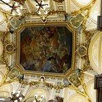 Il prezioso soffitto della Escalera Principal
