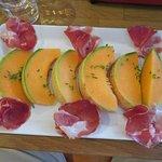 Parma & Melon at Le troquet a Soupes - Cannes (13/Sep/18).