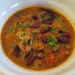 Chili soup at Le troquet a Soupes - Cannes (13/Sep/18).