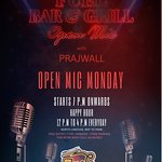 live music by Prajwall on every monday with open mic start from 7:30 to 11:00 pm
