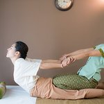 Traditional Thai massage.