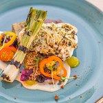 Grilled monkfish @ Max's Restaurant, Northern light Inn, Iceland