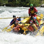 South Fork American River with Tom the amazing guide getting us down safely.