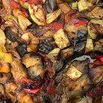 Soufiko, traditional Icarian dish (Slow cooked vegetables with virgin olive oil) Σουφικό, παραδοσιακό πιάτο της Ικαρίας