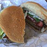 Yummy fish sandwich