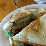 BLT with fried green tomatoes