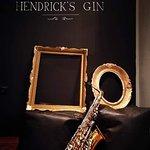 Hendrick's gin corner