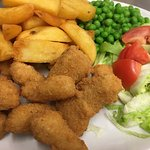 Whole tail Breaded Scampi