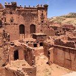 Kazbah (na estrada dos 1.000 kazbahs, por onde passavam as caravanas que vinham do deserto para Marrakech)