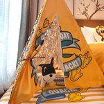 小黄鸭主题家庭套房