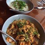 The pasta and gnocchi