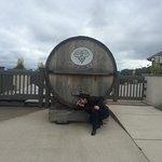 one large barrel of vine !