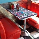 Restaurant Le Memphis - banquette