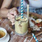 Thick, sweet and refreshing Base Base Samasta's Avocado Juice is a perfect treat to compliment Bali's tropical vibe. Order a glass right away! . #basebase #jimbaranfood #samastabali #balinesefood #makananbali ----- balinese restaurant jimbaran