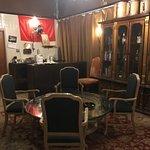An interesting smoking room