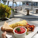 Breakfast with a Caribbean view, anyone?