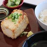 Fried-Tofu Lunch set. (揚げ出し豆腐定食)