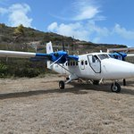 The plane that brought us to Union Island from Barbados