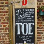 Sint-Truiden, 't Begijntje, closed ('toe' in Dutch)