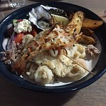 The seafood Plate- just makes you want one...