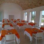 Salone Rosa dei Venti riservato alla prima colazione degli ospiti e all'organizzazione di eventi e feste.