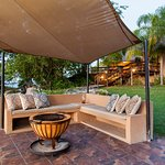 Viewing deck is perfect for an afternoon Braai, and to view the Umhloti Reserve.