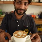 The great Gopi and his personal touch on every cup served with tons of love. Miss ya bro