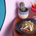 Softshell Crab Taco and Margarita at Condesa Torrensville