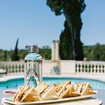 Mandarina Bistro at our small pool