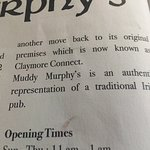 Photo de Muddy Murphy's Irish Pub