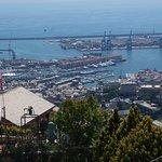 View over Genoa