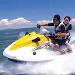 At  Tanjung benoa - Nusa Dua - Bali , a place for water sport activity.
