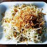 Sauteed anchovy bean sprouts